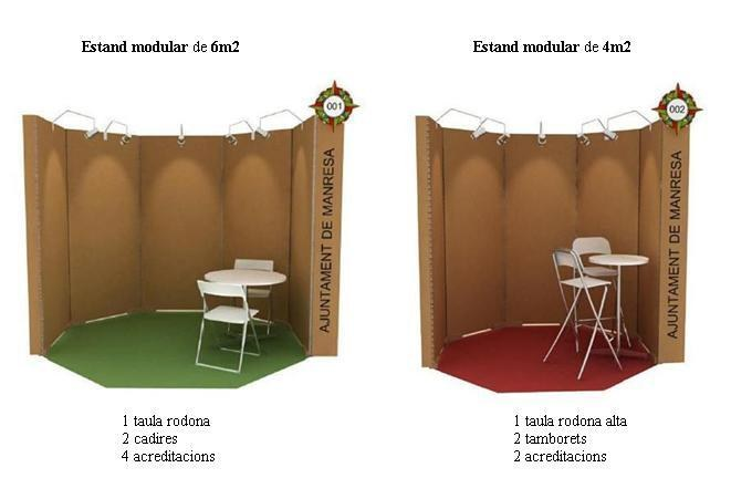 Estands modulars