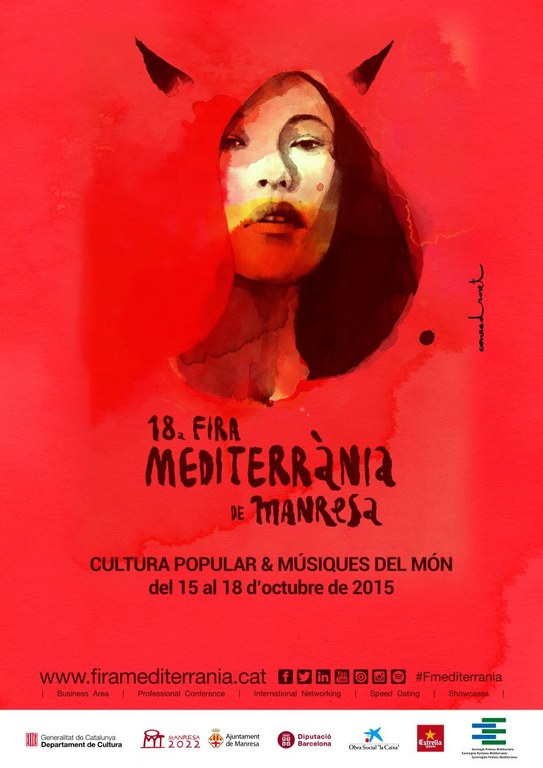 Poster of the 18th Mediterrània Manresa